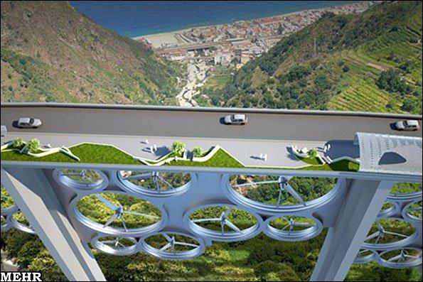 تصاویر طرح پاک ترین پل جهان/ پلی با قدرت تولید 36 میلیون کیلووات انرژی